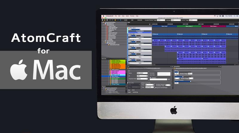 Mac版AtomCraft